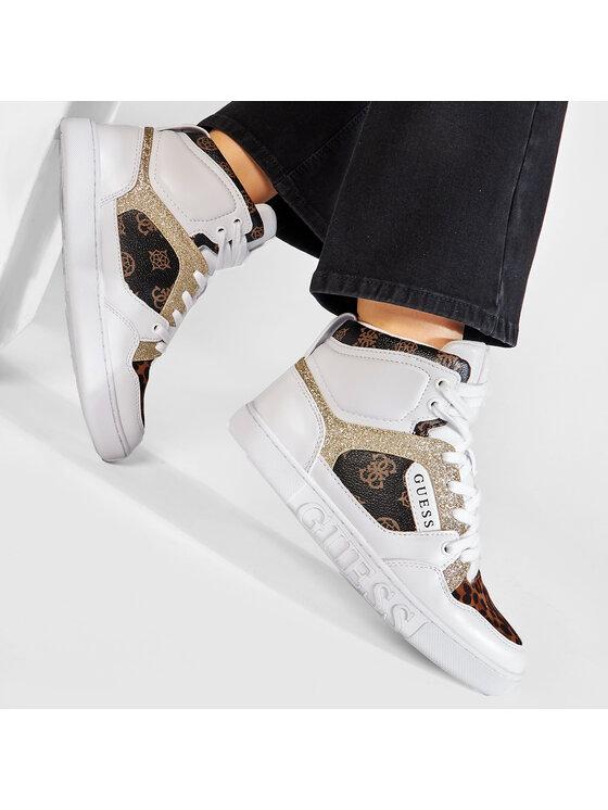 Guess Guess Sneakersy FL5JS2 FAL12 Biały