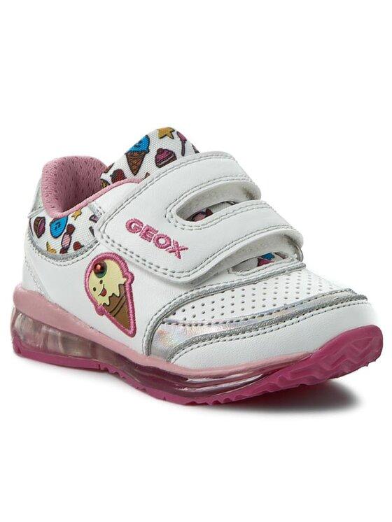 Geox Geox Κλειστά παπούτσια B Todo G.D B6285D 0BCAW C0653 Λευκό