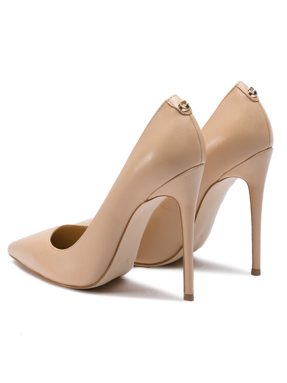 Guess Guess Обувки на ток Felyx FL6FLX LEA08 Бежов