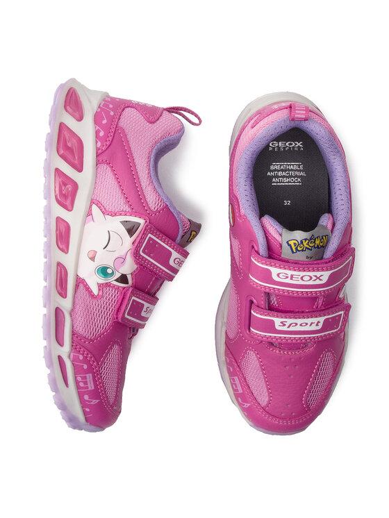 Geox Geox Sneakersy J Shuttle G. D J8206D 014BU C8230 D Ružová