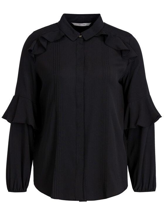iBlues iBlues Marškiniai 71161096 Juoda Regular Fit
