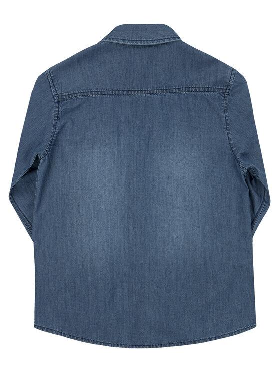 Guess Guess Camicia L01H10 D3SU0 Blu scuro Regular Fit