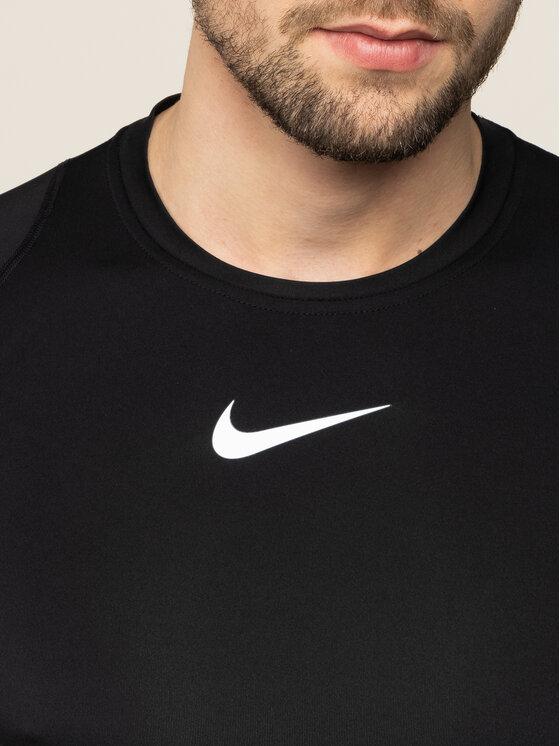 Nike Nike Techniniai marškinėliai Pro 838091 Juoda Tight Fit