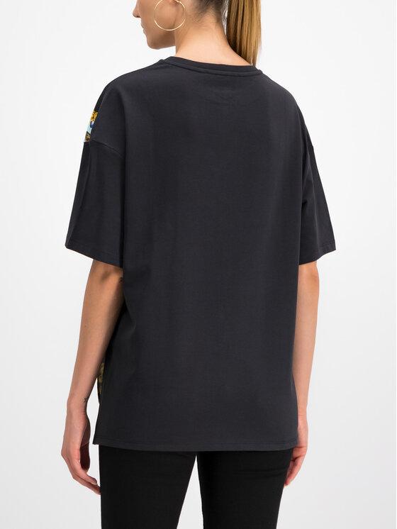 Versace Jeans Couture Versace Jeans Couture T-shirt B2HUA7DP Noir Regular Fit