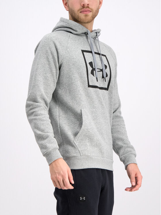 Under Armour Under Armour Džemperis UA Rival Fleece Logo 1329745 Pilka Regular Fit
