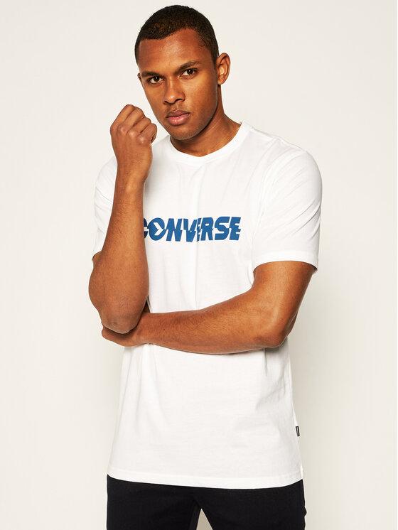 Converse Converse T-Shirt Table Tee 10019599-A01 Λευκό Regular Fit