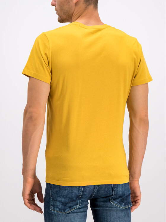 Pepe Jeans Pepe Jeans T-shirt Eggo PM500465 Giallo Regular Fit