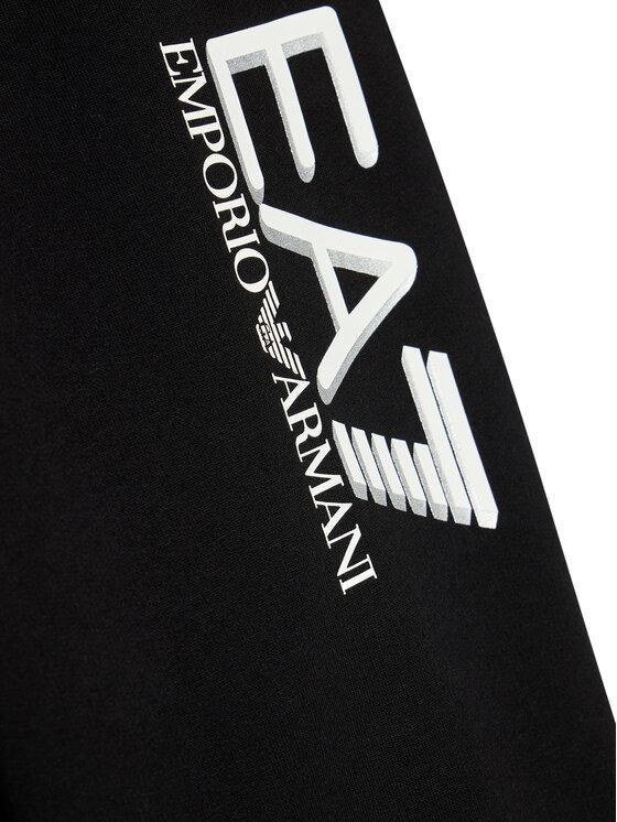 EA7 Emporio Armani EA7 Emporio Armani Spodnie dresowe 6KBP53 BJ05Z 1200 Czarny Regular Fit