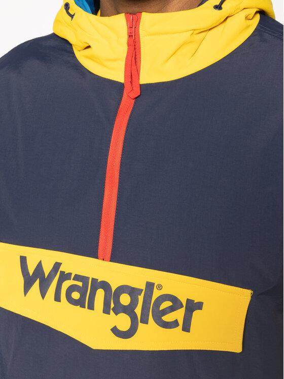 Wrangler Wrangler Kurtka puchowa Popover W4C3YL114 Granatowy Regular Fit
