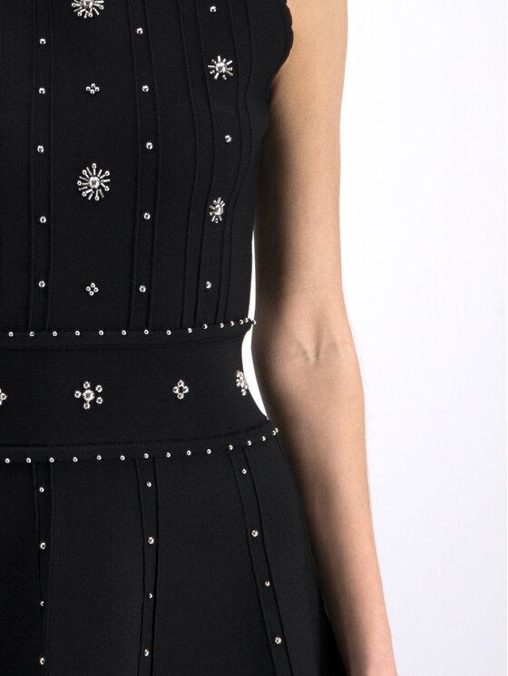 Silvian Heach Silvian Heach Φόρεμα κοκτέιλ Ussera CVP19004VE Μαύρο Regular Fit