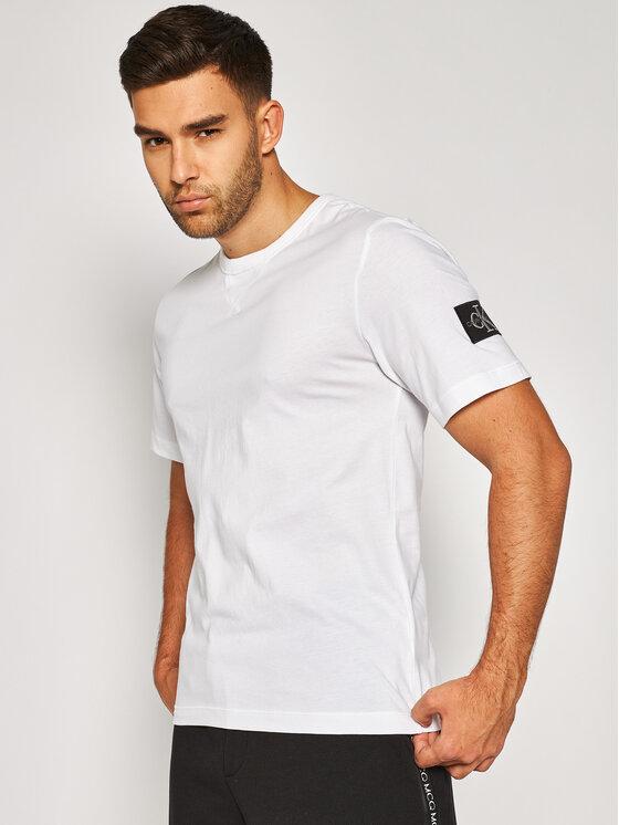 Calvin Klein Jeans Calvin Klein Jeans T-shirt J30J314051 Bianco Regular Fit