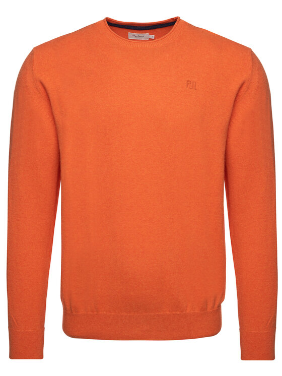 Pepe Jeans Pepe Jeans Sweater Keynes PM701952 Narancssárga Regular Fit