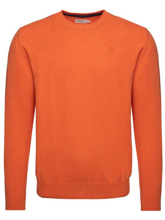 Pepe Jeans Pepe Jeans Sweter Keynes PM701952 Pomarańczowy Regular Fit