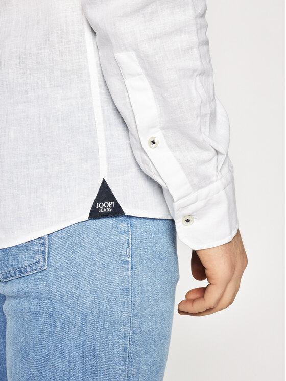 Joop! Jeans Joop! Jeans Риза 15 Jjsh-04Hanjo-W 30016248 Бял Regular Fit