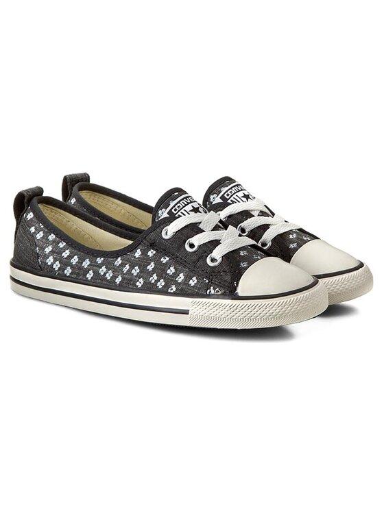 Converse Converse Sneakers aus Stoff Ct Ballet Lace 547169C Schwarz
