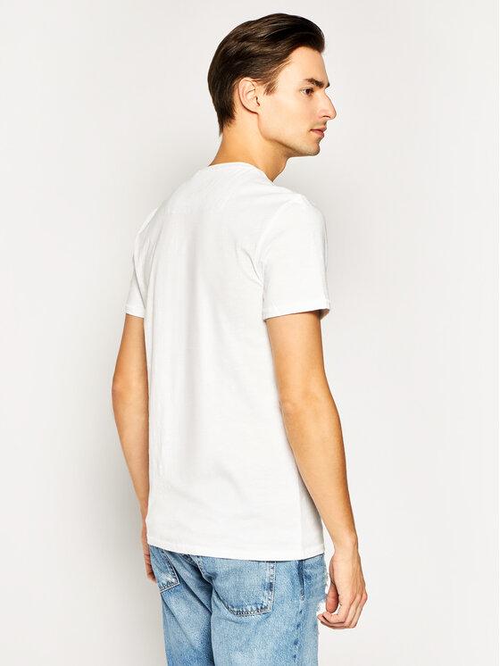 Guess Guess T-Shirt M0GI68 K6XN0 Weiß Slim Fit