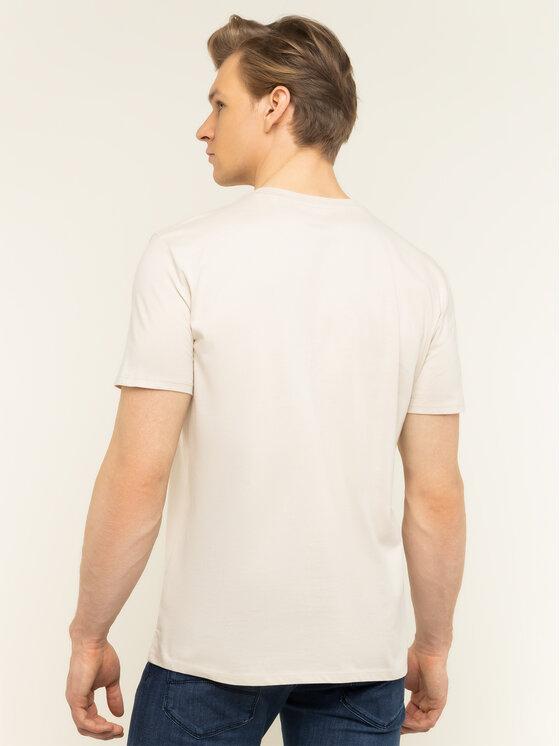 Marc O'Polo Marc O'Polo T-Shirt 021 2220 51230 Béžová Regular Fit