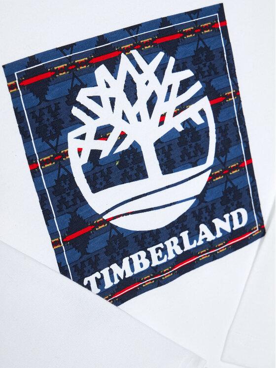 Timberland Timberland Bluzka T25R20 D Biały Regular Fit