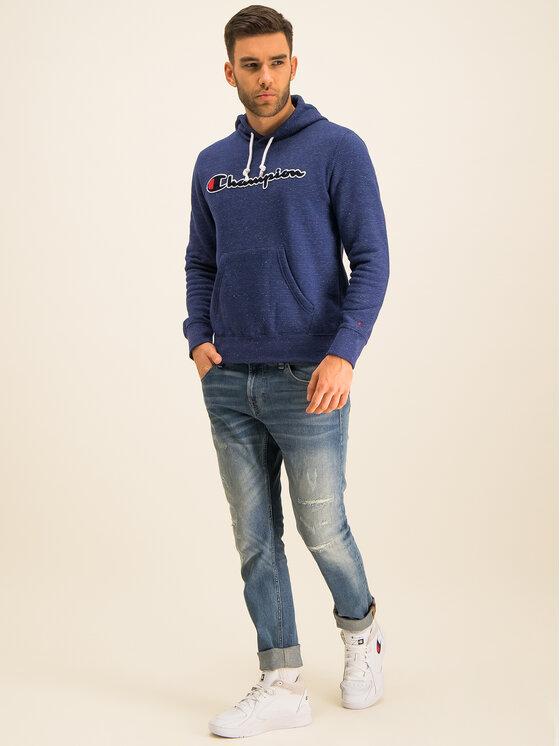 Champion Champion Bluza 213411 Granatowy Comfort Fit