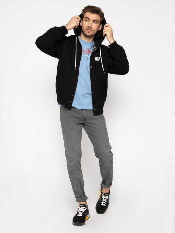 Pepe Jeans Pepe Jeans T-Shirt Eggo PM500465 Μπλε Regular Fit