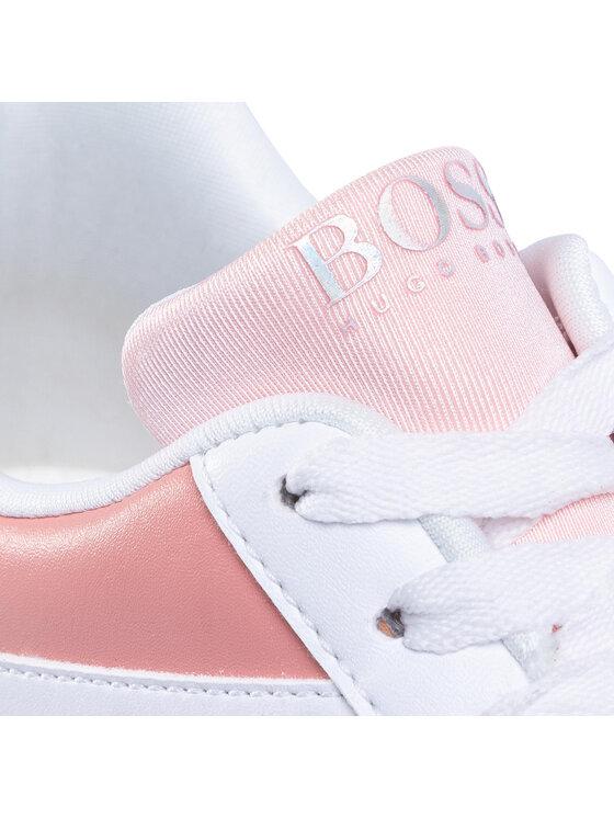 Boss Boss Sneakersy J19040 D Biały