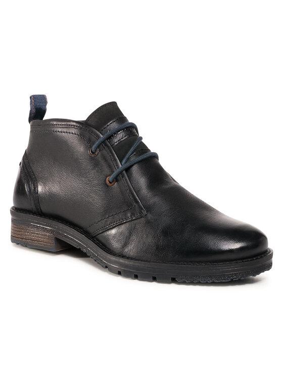 Wrangler Auliniai batai Boogie Desert Leather WM02001A Juoda