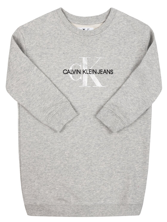 Calvin Klein Jeans Calvin Klein Jeans Bluza IG0IG00266 Szary Regular Fit