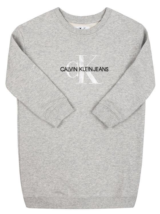 Calvin Klein Jeans Calvin Klein Jeans Sweatshirt IG0IG00266 Grau Regular Fit