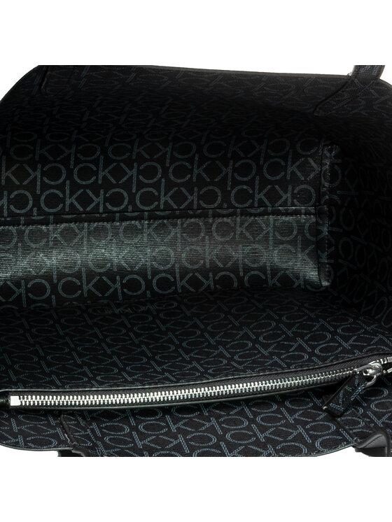 Calvin Klein Calvin Klein Torebka Ck Mono Shopper Rev Md K60K606565 Czarny