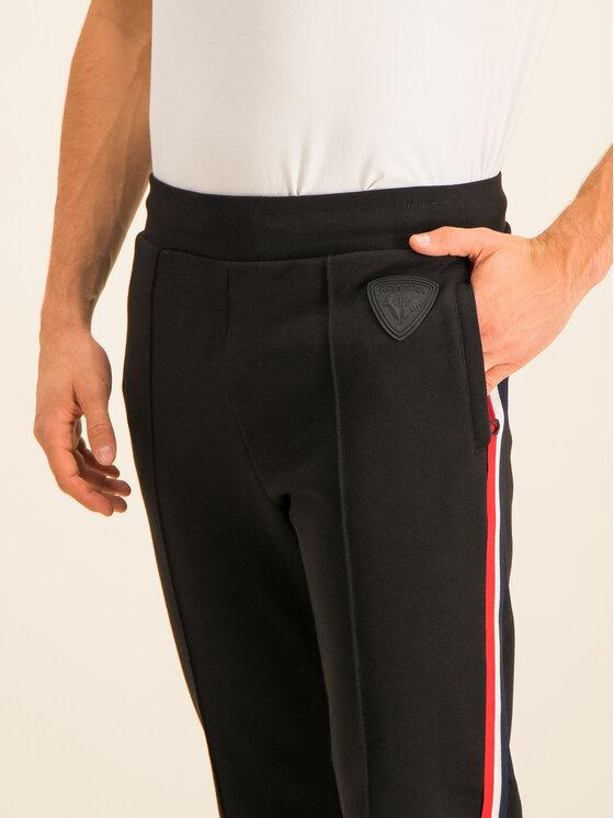 Rossignol Rossignol Teplákové kalhoty Track Cuit Sweat RLHMP38 Černá Regular Fit