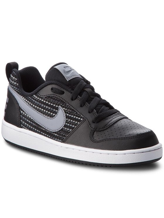 Nike Nike Topánky Court Borough Low Se (GS) AA2902 002 Čierna