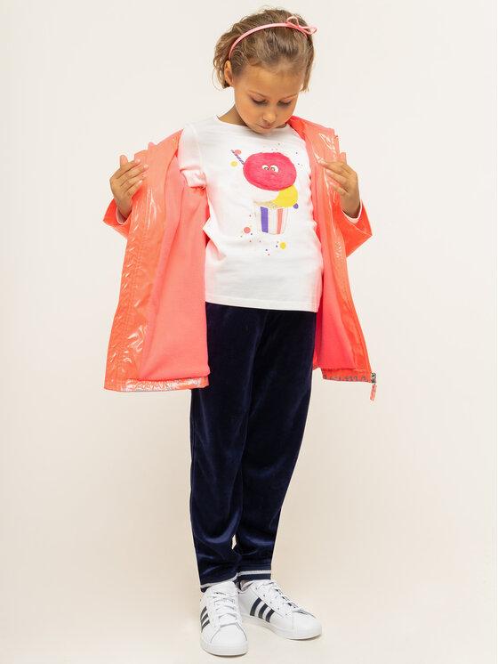 Billieblush Billieblush Bluzka U15693 Beżowy Regular Fit