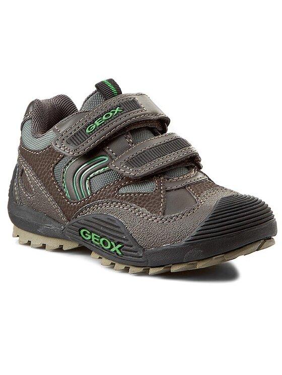 Geox Geox Обувки J Savage C J4424C 011BC C6449 Кафяв