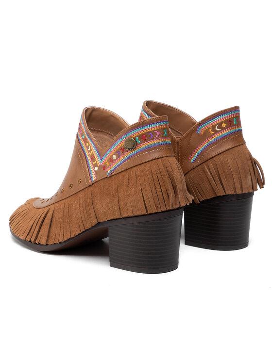 Desigual Desigual Μποτάκια Shoes Alaska Tibet 19WSAP07 Καφέ