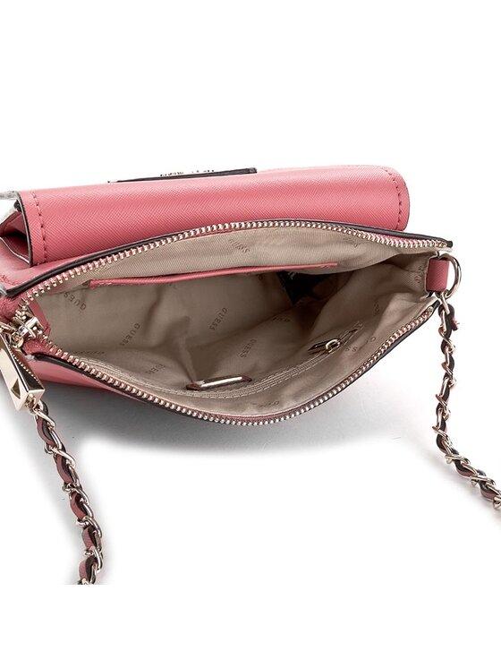 Guess Guess Handtasche Ryann Mini Crossbody Top Zip HWCG66 83700 Rosa