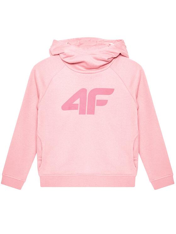 4F 4F Bluza HJL21-JBLD002A Różowy Regular Fit
