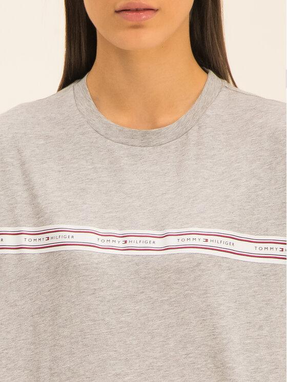 Tommy Hilfiger Tommy Hilfiger T-Shirt Raven WW0WW26680 Grau Regular Fit