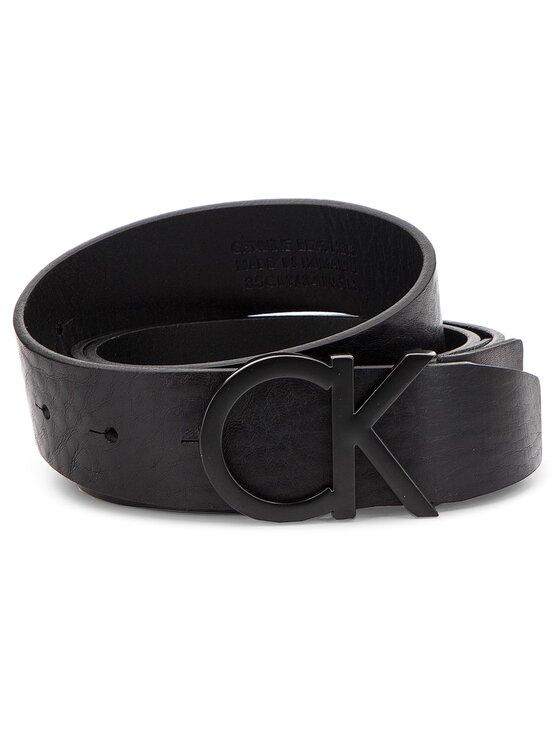 Calvin Klein Calvin Klein Cintura da uomo 3.5CM CK ADJ Buckle K50K504140 85 Nero