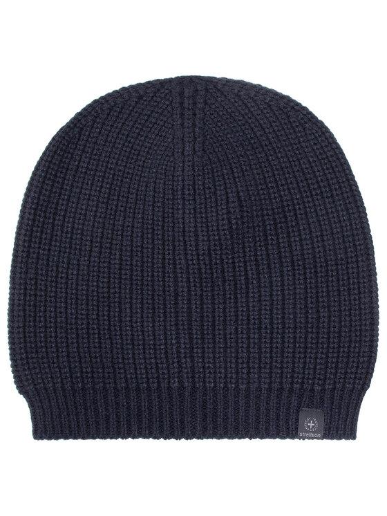 Strellson Kepurė Magnus 30022355 Tamsiai mėlyna