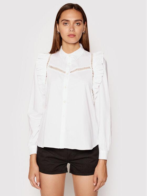 Rinascimento Marškiniai CFC0102962003 Balta Regular Fit
