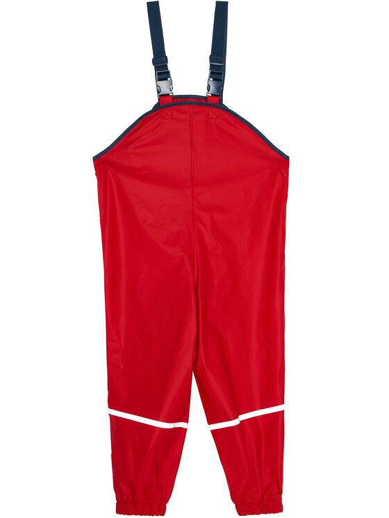 Playshoes Playshoes Spodnie przeciwdeszczowe 405424 D Czerwony Regular Fit