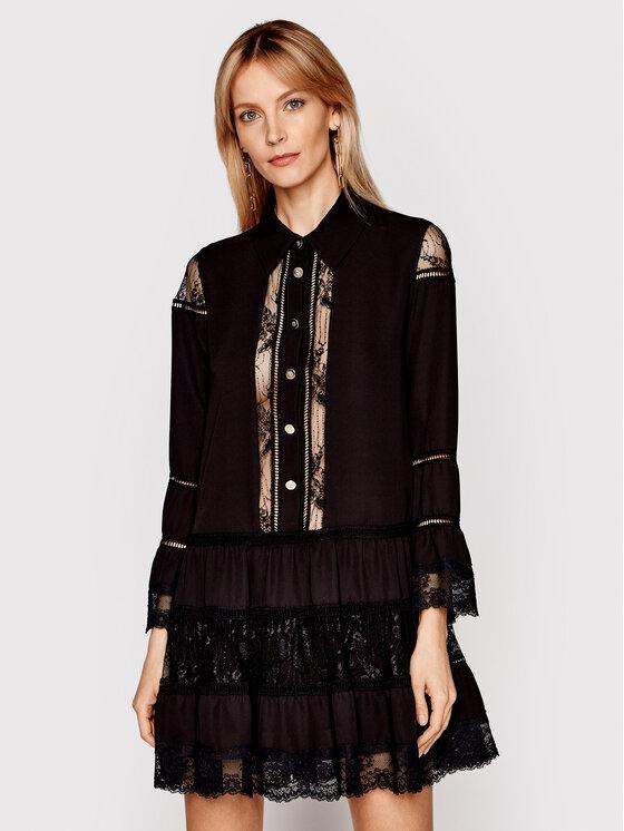 Babylon Marškinių tipo suknelė N_EL0701 Juoda Relaxed Fit