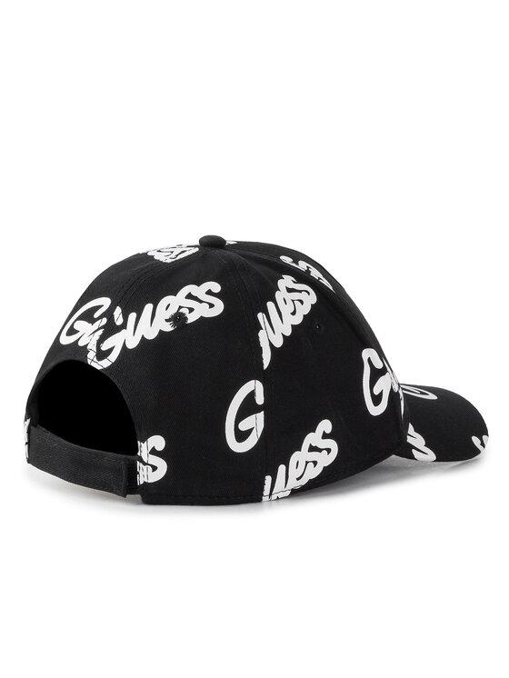 Guess Guess Καπέλο Jockey Graffiti Hats AM8554 COT01 Μαύρο