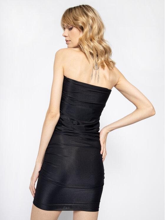 Pinko Pinko Φόρεμα κοκτέιλ Megaloman 20201 PBK2 1B14LA Y673 Μαύρο Slim Fit