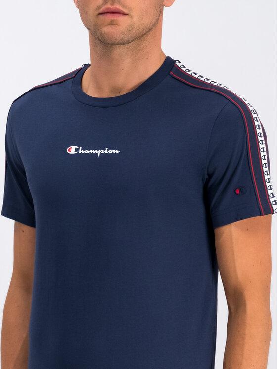 Champion Champion Marškinėliai 213461 Tamsiai mėlyna Regular Fit