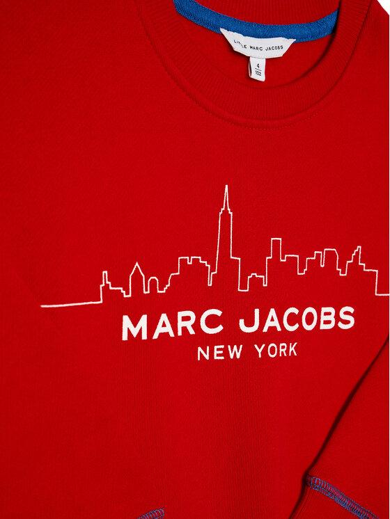 Little Marc Jacobs Little Marc Jacobs Džemperis W25386 M Raudona Regular Fit