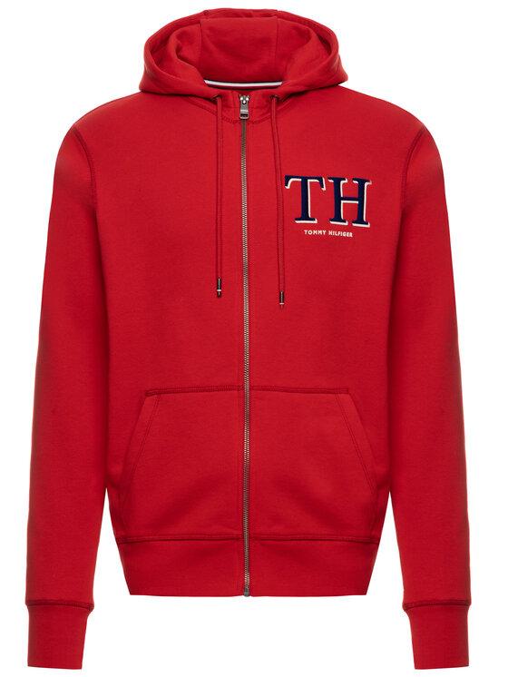 Tommy Hilfiger Tommy Hilfiger Bluza Monogram MW0MW11578 Czerwony Regular Fit