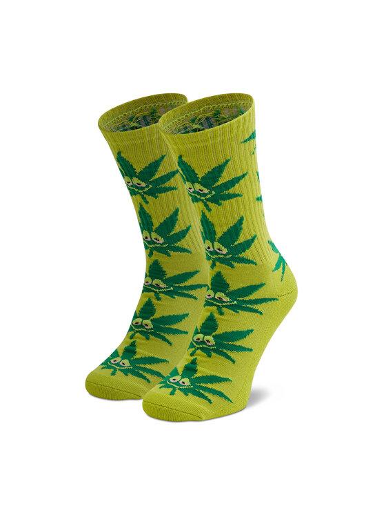 HUF Ilgos Moteriškos Kojinės Green Buddy Strains SK00544 r. OS Žalia