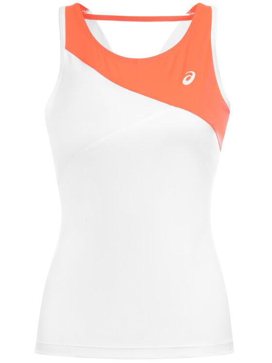 Asics Asics Тениска от техническо трико Club W Tank 2042A101 Бял Regular Fit