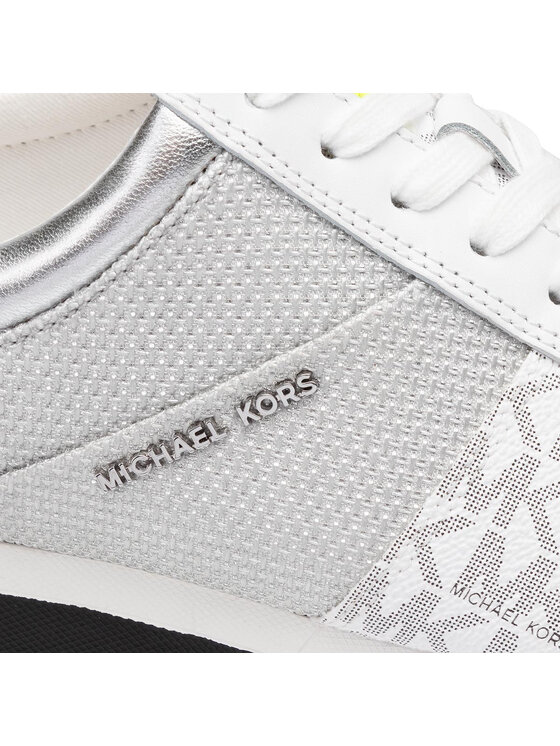 MICHAEL Michael Kors MICHAEL Michael Kors Сникърси Allie Trainer 43T9ALFS3D Бял